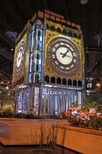 Big Ben in the clock phase.