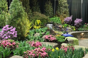 Levendusky Landscape's color-filled, Best-Use-of-Plants display garden.