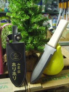 Japanese garden knives are handy for a lot of small jobs.