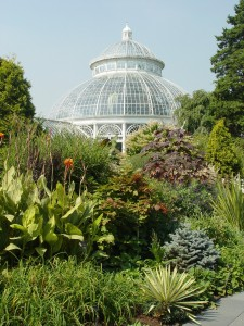 NYBG's signature feature is the Enid Haupt Conservatory.