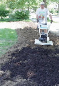 Tilling, especially in fall, is a good way to waste nitrogen in the soil.