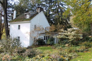 This is the back of David Culp's and Michael Alderfer's Brandywine Cottage.