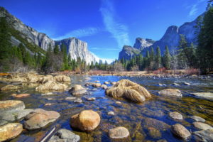 We'll spend two nights in Yosemite National Park.