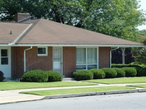 """""""Sterile"""" front yards like this are not uncommon in many of our housing developments."""