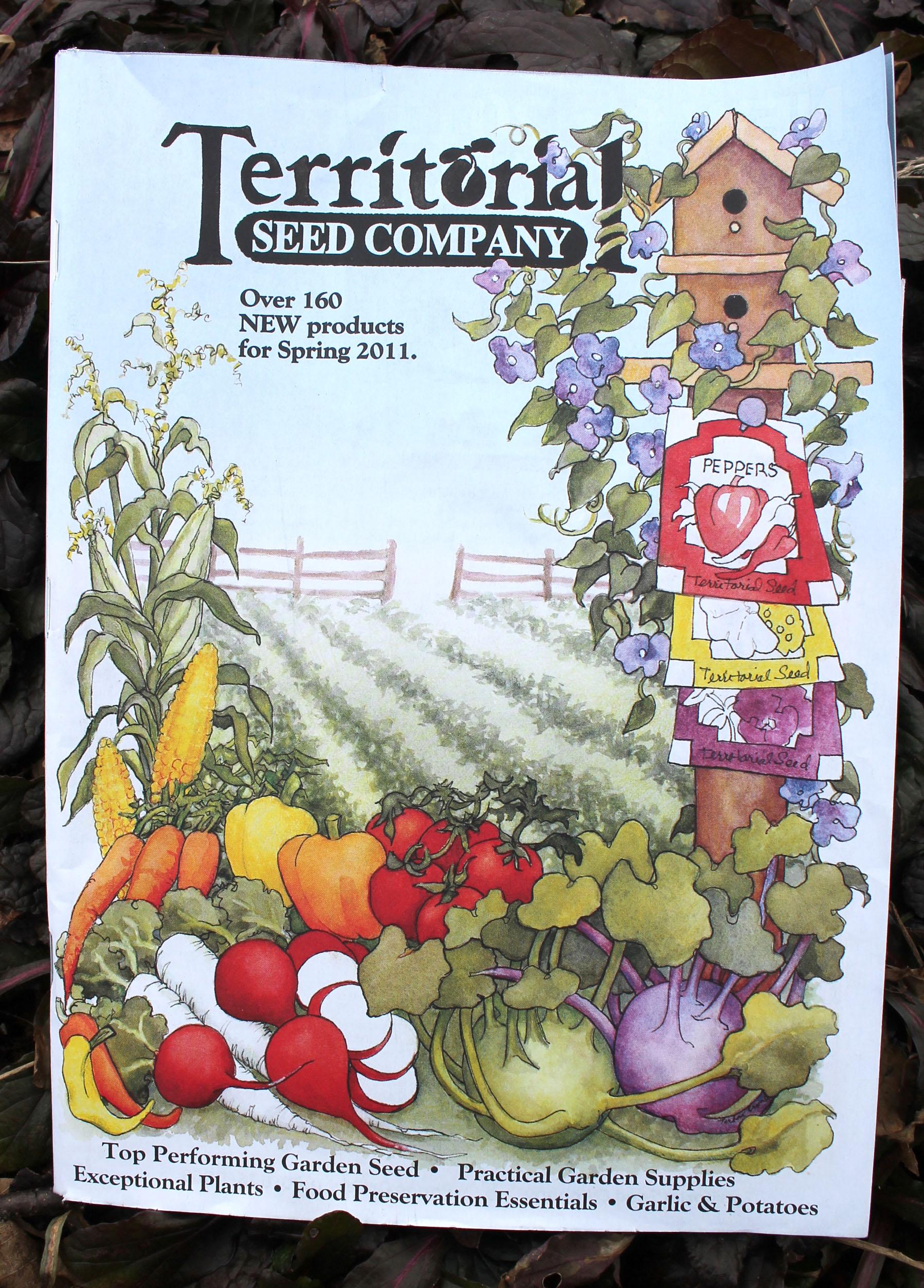 Territorial Seed Catalog.