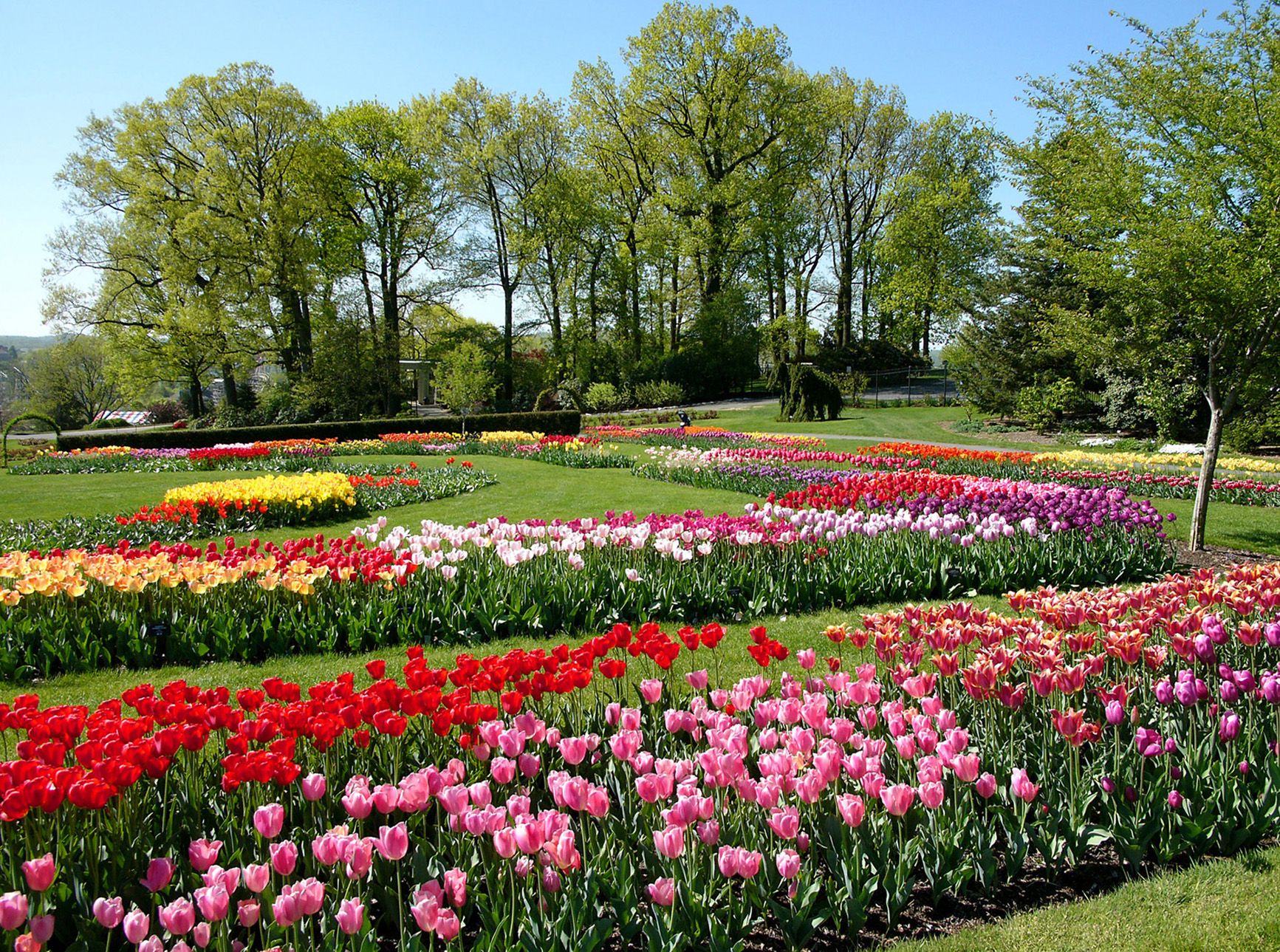 Hershey gardens turns 75 garden housecalls for Flower landscape