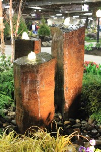 A rocl fountain display by The Greenskeeper.