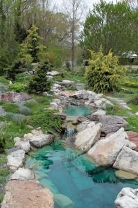 The Rock Garden.