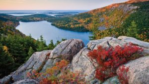 Some of the scenery at Acadia National Park.