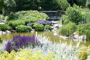 Coastal Maine Botanical Gardens' Lerner Garden of the Five Senses.