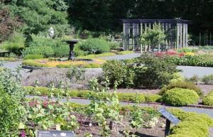 Tower Hill Botanical Garden's Systematic Garden.