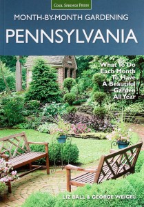 "My second book is ""Month-by-Month Gardening in Pennsylvania."""