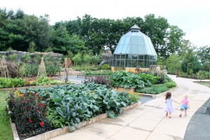 Here's part of Penn State Arboretum's new Childhood's Gate children's garden.