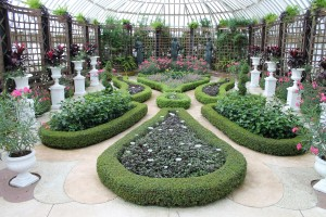 The Broderie Room is my favorite part of Phipps Conservatory.