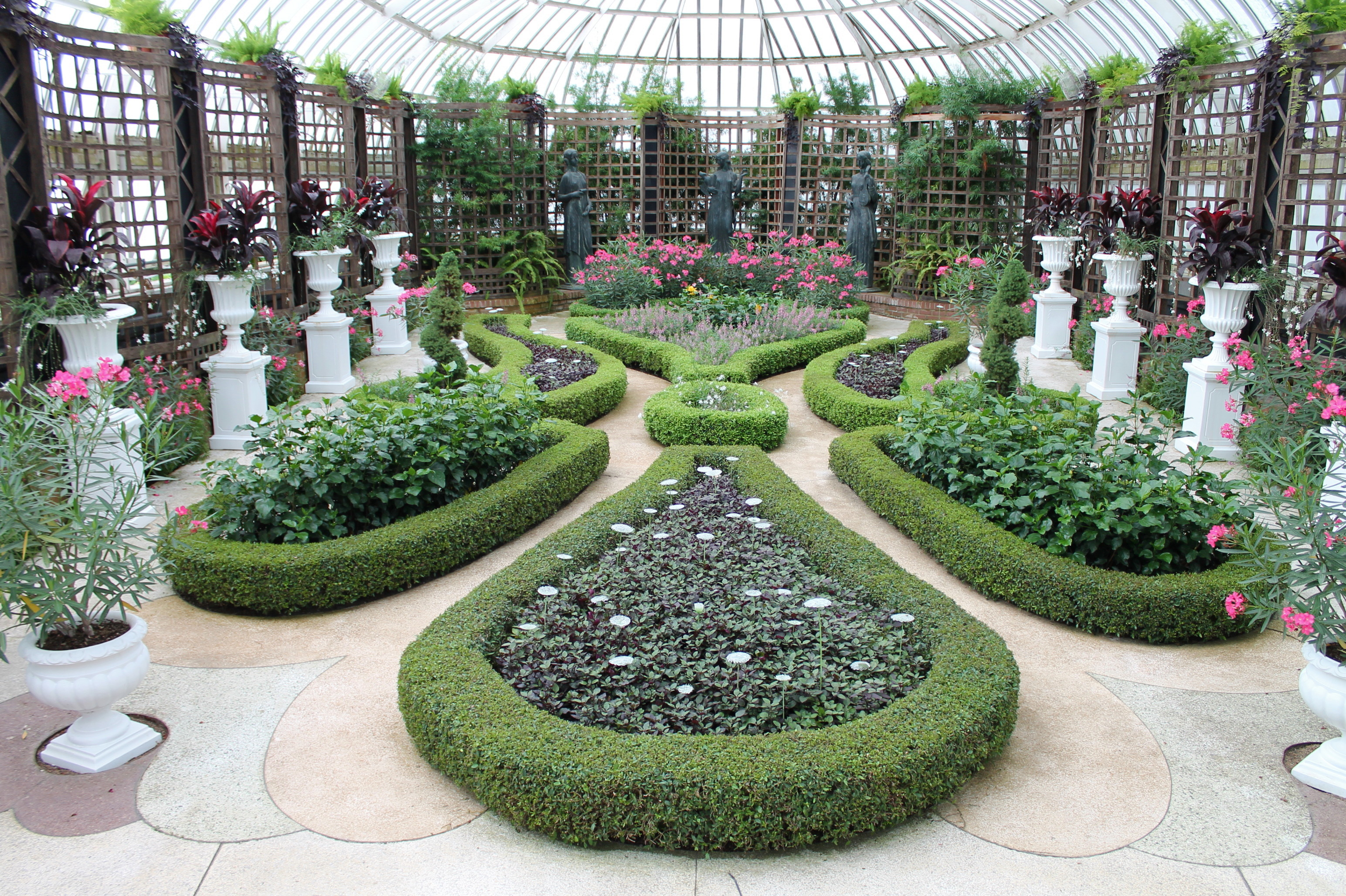 the broderie room is my favorite part of phipps conservatory - Pittsburgh Botanic Garden
