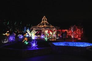 Brookside Gardens' Garden of Lights.