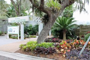 The Marie Selby Gardens are on the Florida itinerary.