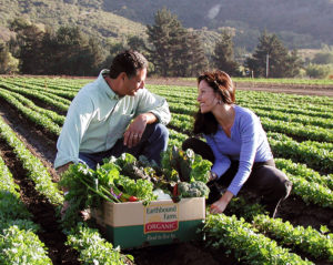We'll be touring Earthbound Farm, America's largest organic farm.