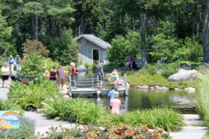 The Alfond Children's Garden at Coastal Maine Botanical Gardens.