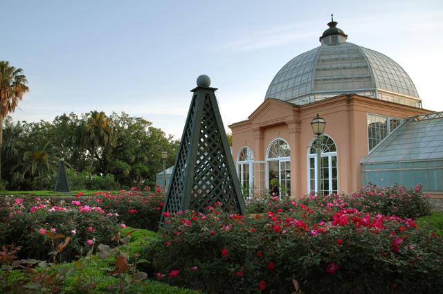 Rose Garden New Orleans City Park